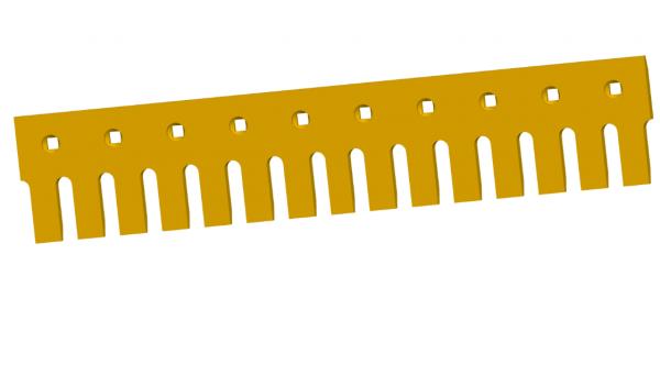 How to nurse excavator bucket tooth?